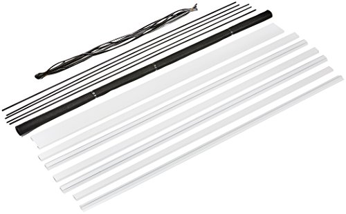 hecht international 101100201-VH MASTER SLIM+ Fliegengittertür, weiß, 120x240 cm