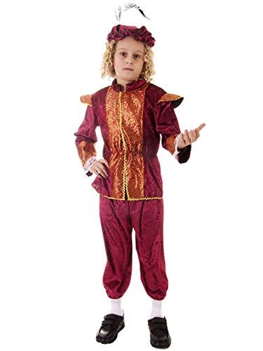 Tudor kostuum jongens, leeftijd: 10-11 jaar