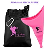 Female Urination Device - Female Urinal Allows Women to Pee Standing Up! No-Leaks, No-Splash, Easy to use Design! Our Pee Funnel for Women is The Confident Women's Choice! -Discreet Carry Bag Included