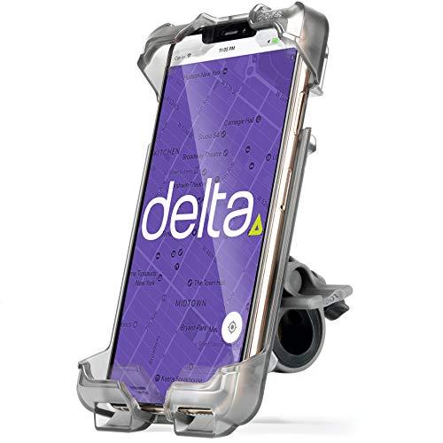 Delta Smartphone-Halterung für das Fahrrad, für iPhone, Android, Samsung, HTC, wasserdicht, Unisex, HL6500, Schwarz, XL