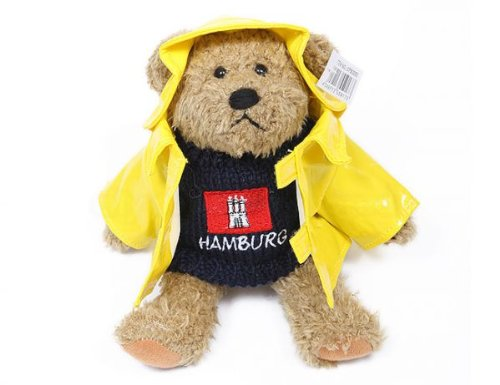 City Souvenir Shop Hamburg Teddy mit Ölzeug