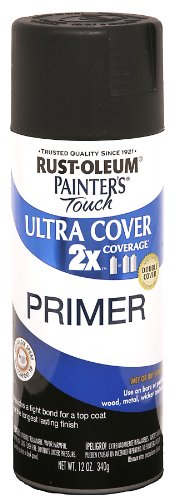 RUST-OLEUM Painters Touch 2x Ultra Cover Primer Black Spray Paint