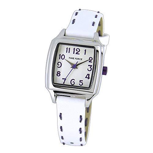 Time Force Reloj Analógico para Niños de Cuarzo con Correa en Cuero TF4114B06