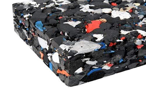 Steffensmeier Kunstrasen Zubehör Shockpad Fallschutzmatte | Meterware 1m breit - bis 50 m Länge Zuschnitt | für festen Untergrund wie Stein und Holz