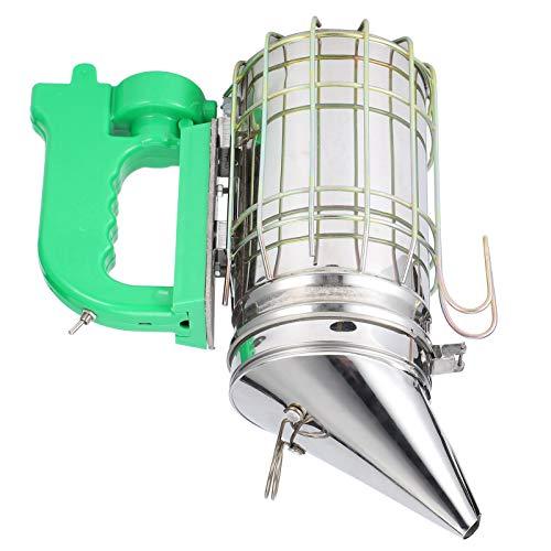 Ahumador de abejas desmontable, ahumador de colmena eléctrico de acero inoxidable, portátil,...