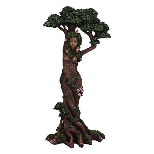 Nemesis Now Mother Nature Female Tree Spirit Woodland Figurine Ornament, Brown, 30.7cm