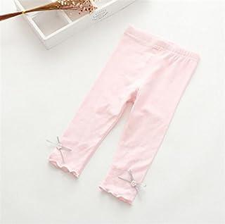 (マリア) MARIAH子供服 パンツ 女の子 選べる6色 7分丈レギンスパンツ キッズ ジュニア 女の子 夏 韓国 子供服 レギンス