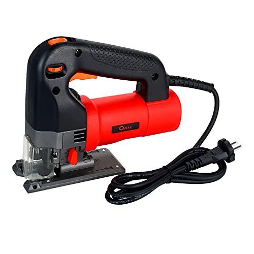 Sierra de calar eléctrica 750W Sierra curvada eléctrica multifuncional Máquina de corte de sierra eléctrica para el hogar Cortador eléctrico portátil Herramienta de carpintería eléctrica