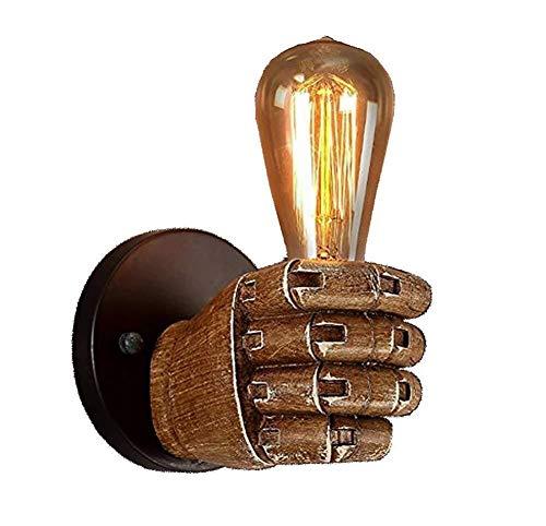 Apliques en forma de vela Iluminación de la vendimia Lámpara de pared creativa Industrial 1 Lámpara de pared Lámpara de pared con la mano Molde for cocina Cocina Restaurante Bar Sala de estar Almacén