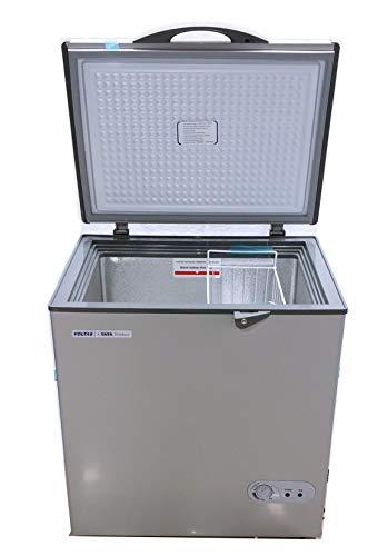 Voltas 150 Litre Single Door Hard Top Convertible Deep Freezer - 150 Ltr, Grey