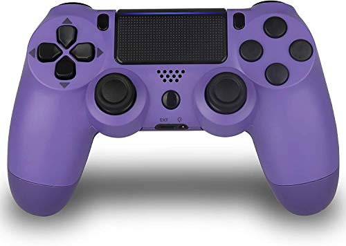 Wireless Controller for PS4 - TATECH PS4 Gamepad Remote Control for Playstation 4 Joystick,3rd-Party Works(Electric Purple,New 2019 Fall)