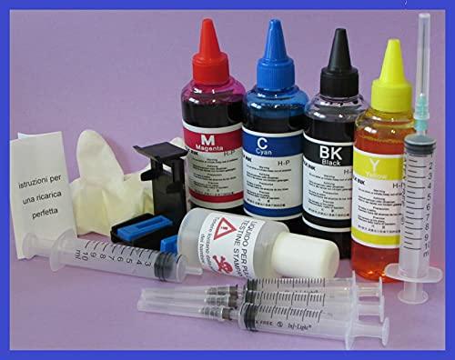 400 ml Kit Tinta Cartuchos 300 para Impresora HP Deskjet D2660