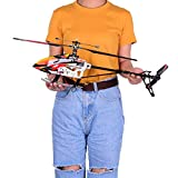 RC Helicopter, 2.4G 4CH Single Blade Built-in Gyro Super Stable Flight Big Plane RTF Aircraft RC Airplane
