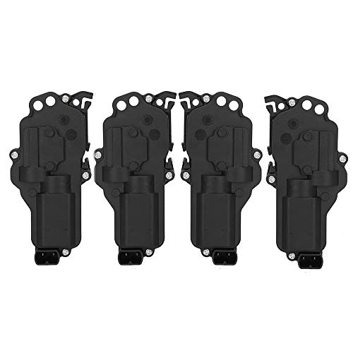 4 Pack Latch Door Lock Actuator - Right & Left Side, Fit for 1998-2017 Ford Excursion F-150 F-250 F-350 Freestyle Lincoln Navigator Mercury Montego # 6L3Z25218A43AA 6L3Z25218A42AA 746-148
