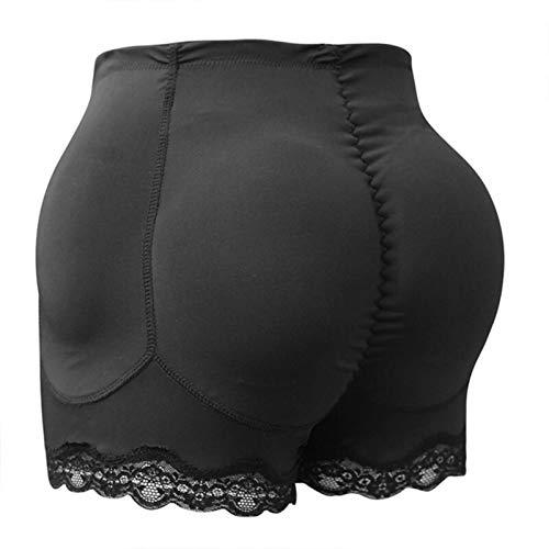 RichAmazon Mujeres 4 unids almohadilla refuerzo falso glúteos caderas par elevación caldera silueta control ropa interior relleno delgada ropa interior cadera pad