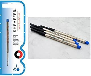 Sheaffer K Ballpoint Pen Refill Blue Fine