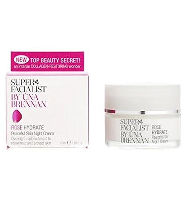 近傍カレッジ植物のSuperfacialist Rose Peaceful Skin Night Cream, 50ml - Superfacialistは、平和的なスキンナイトクリームローズ、50ミリリットル (Superfacialist) [並行輸入品]