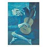 zxddzl Wohnkultur Druck Leinwand Kunst Wandbild Poster Leinwand Spanischen Maler Picasso 40x50 cm...