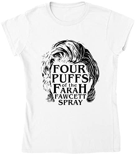 ¡Cuatro Puffs of The Spray Hair Artwork Camiseta para mujer!