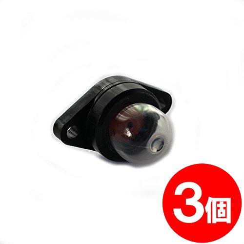【FocusOne】3個 ワルボロ製 キャブレター用 プライマリーポンプ WPV07 互換品 【刈払機・草刈機・ブロワーなどに】