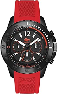 Lacoste Fidji Men's Dial Silicone Band Chronograph Watch - 2010738