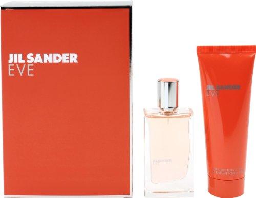 Jil Sander Eve Geschenkset femme/woman, Eau de Toilette Vaporisateur/Spray 30 ml, Bodylotion 75 ml, 1er Pack (1 x 105 ml)