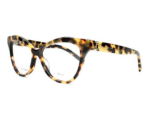Marc Jacobs Plastic Cat Eye Eyeglasses 51 0O2V Glitter Havana