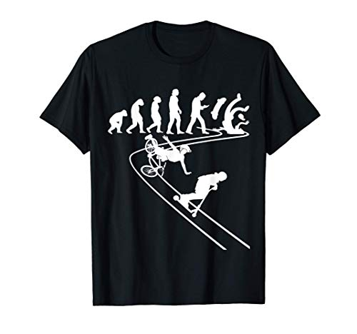 Cascadeurs freestyle roues BMX Skateboard Trottinettes T-Shirt