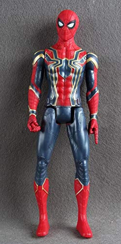 Avengers Infinity War Titan Hero Thanos Iron Spider Captain America Black Panther Hulk Hulkbuster Titan Hero Power Fx Port  Marvel Action Figures 3.75  Spiderman Into The Spiderverse