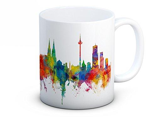 Cologne Köln Skyline Deutsche Stadtbild - Hochwertigen Kaffee Tee Tasse
