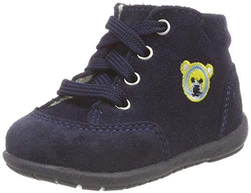 Richter Kinderschuhe Jungen Duplo Sneaker, Blau (Atlantic 7200), 22 EU