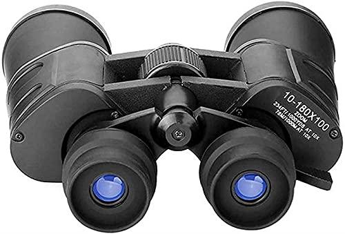 XUELIAN Binoculares Telescopio HD Profesional/Impermeable Binoculares a Prueba de Niebla, 10-180x100 Potentes binoculares, Usando BAK-4 Prism FMC Lens 22mm Large