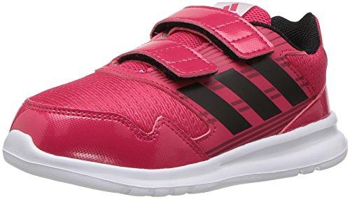 adidas Originals Girls' Altarun Sneaker, Energy Pink/Black/Mystery Ruby, 7 M US Infant