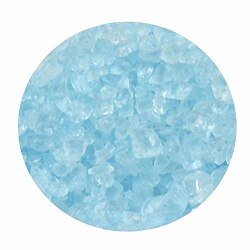 Glasgranulat hellblau 1kg 2-4 mm Dekogranulat
