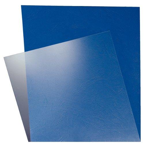 Leitz 33681 Bindesysteme Deckblätter (A4, 180 Micron) 100 Stück glasklar