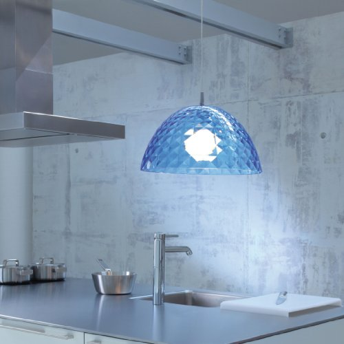 Koziol - Lampe Suspension Stella Ø 43,5 Cm - Bleu