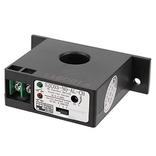 Strommessschalter, Schließer Strommessschalter einstellbar AC 0,5-200A SZC03-NO-AL-CH Wechselstrommessschalter