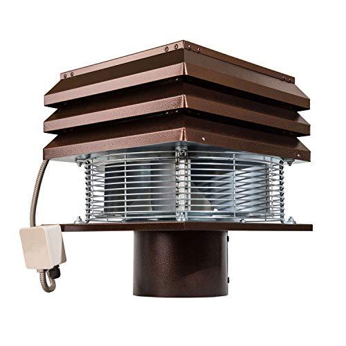 Extractor de humo Extractores de humo para chimeneas para barbacoa Aspirador de humos para chimenea extractor de chimenea extractor chimenea leña Gemi Elettronica profesional redondo de 20 cm 200 mm