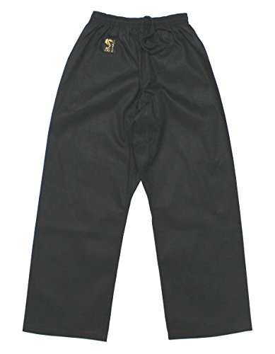 S.B.J - Sportland Baumwollhose/Kampfsporthose/Judohose/Karatehose schwarz (170)