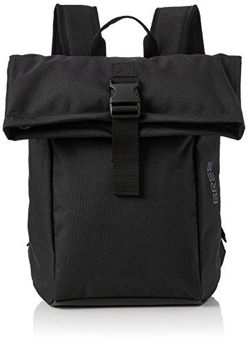 BREE Unisex-Erwachsene Punch Style 92, Black, Backpack S Schultertasche Schwarz (Black)