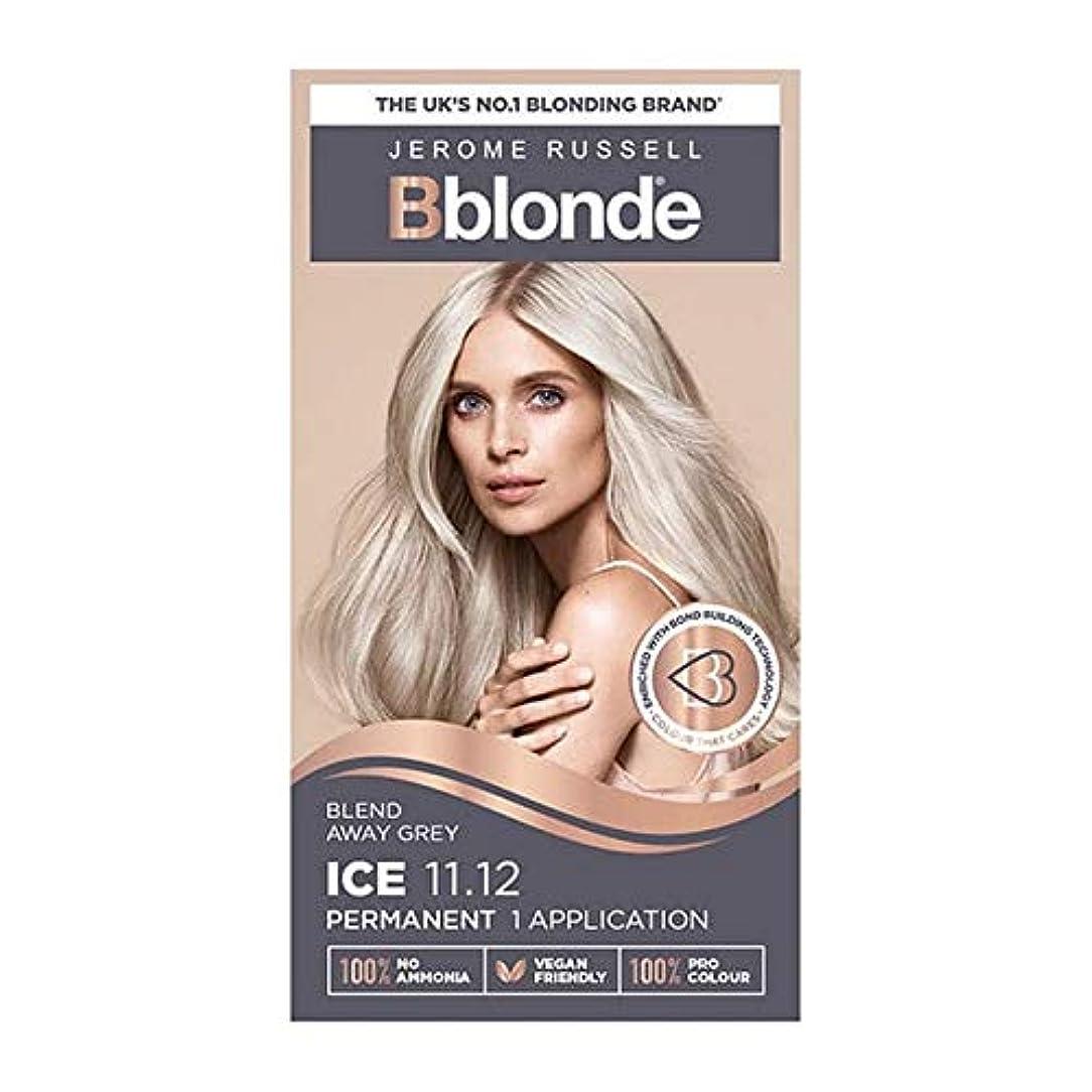 あからさま熱帯の民族主義[Jerome Russell ] 11.12ブロンドジェロームラッセルBblondeパーマネントヘアキットの氷 - Jerome Russell Bblonde Permanent Hair Kit Ice Blonde 11.12 [並行輸入品]