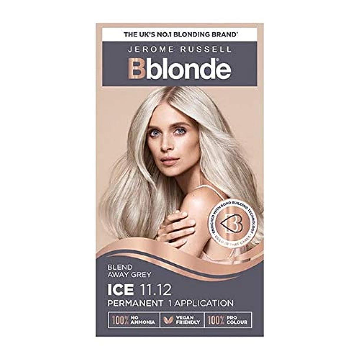 気をつけて音声学好き[Jerome Russell ] 11.12ブロンドジェロームラッセルBblondeパーマネントヘアキットの氷 - Jerome Russell Bblonde Permanent Hair Kit Ice Blonde 11.12 [並行輸入品]