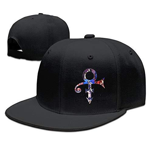 LIU888888 Baseball Cap Prince Black,Hüte, Mützen & Caps