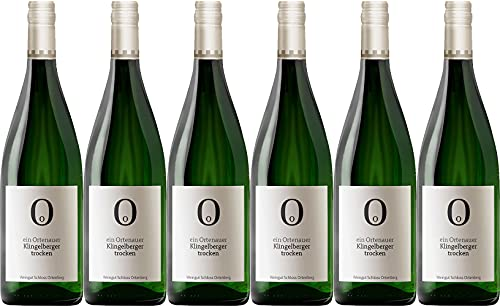 Schloss Ortenberg Klingelberger-Riesling Qualitätswein 2019 Trocken (6 x 1.0 l)