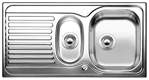 BLANCO Toga 6 S Basic, Küchenspüle, Edelstahl Naturfinish, 1 Stück, 516997