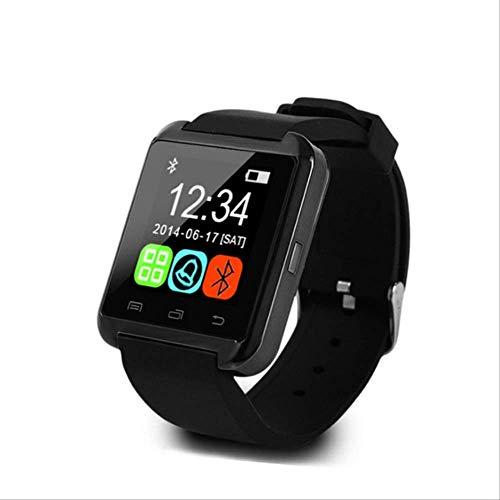 RTGFS - Smartwatch Smart Watch con notifica, Scheda SIM, Compatibile con Apple iPhone e Android, Colore: Nero