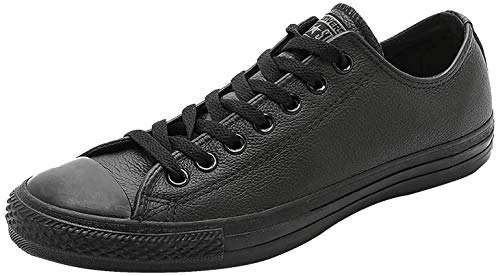Converse CT AS OX BLACK MONO, Unisex-Erwachsene Low-top, Schwarz (Black), 40 EU