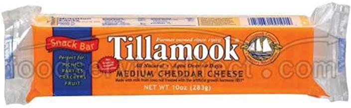 product image for Tillamook Medium Cheddar Cheese Snack Bar, 10 Ounce -- 12 per case.