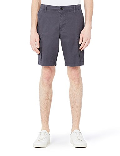 Amazon-Marke: MERAKI Herren Cargo Shorts, Grau (Charcoal), 2XL