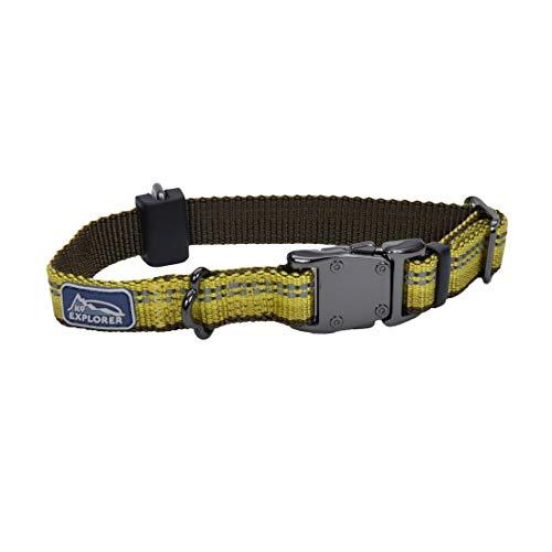 Coastal Pet K9 Explorer Reflective Dog Collar Small Goldenrod